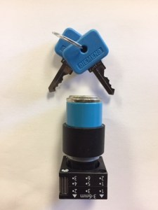 Galbreath Switch, 2 Position Key A3512