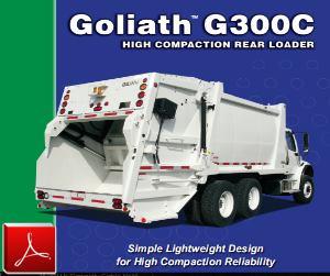 E-Z Pack Goliath G300C Rear-Loader