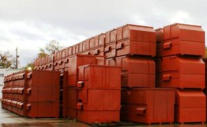 NuLife Front Load Garbage Containers ready for delivery
