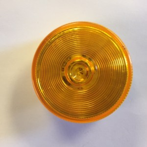 "2 1/2"" Round Amber Marker LED Light M163A"