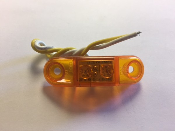 Amber LED Utility Marker Light M168A
