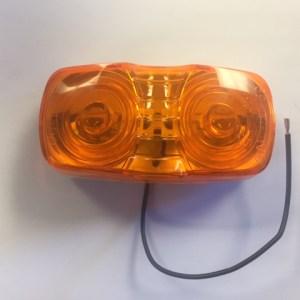 Rectangular Amber Marker Light NL150814