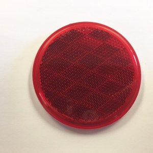 "3"" Round Red Reflector NL160002"