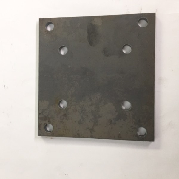 Gresen Hand Valve Mounting Plate NL391027-A