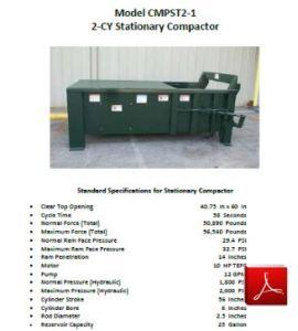 2 CY Compactor