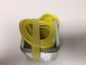 Roll-Off Tie Down Strap - Each strap will secure one side.