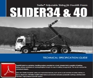 STELLAR Slider 34-40 Hook Lift Hoist