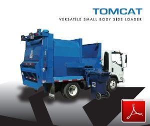 Wayne TomCat Side Loader Garbage Truck Body