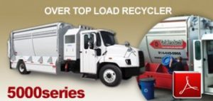 G-S Products 500 Series Garbage Truck Body