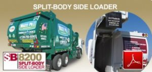 G-S Products - Split Body Garbage Truck