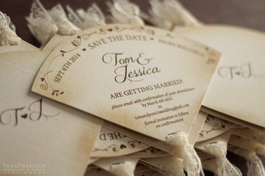 Save Date Invitation Card