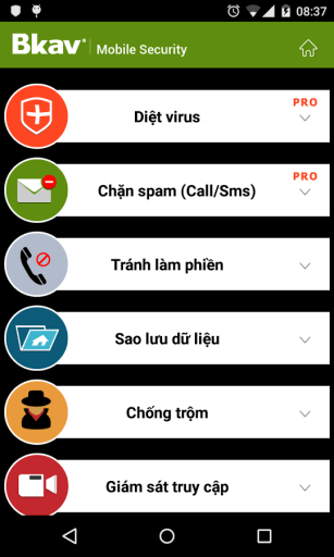 Bkav Security Android App Free Download