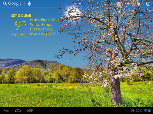 Nature Live Weather App Android Free Download
