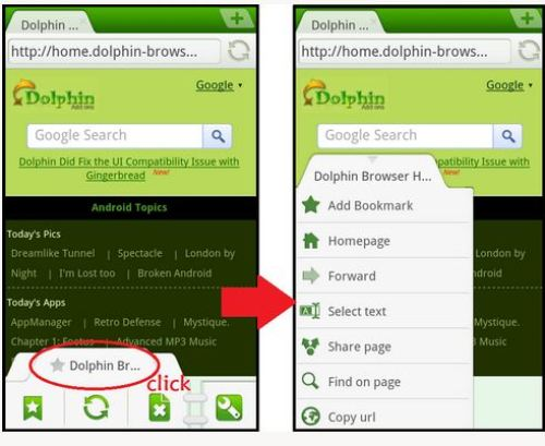 Dolphin Browser App Android Free Download