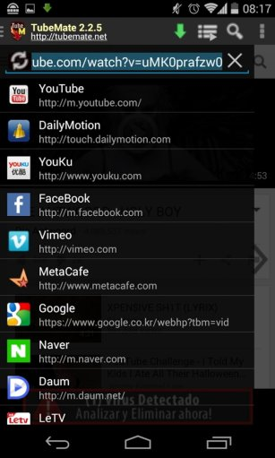 TubeMate 2 YouTube Downloader App Android Free Download
