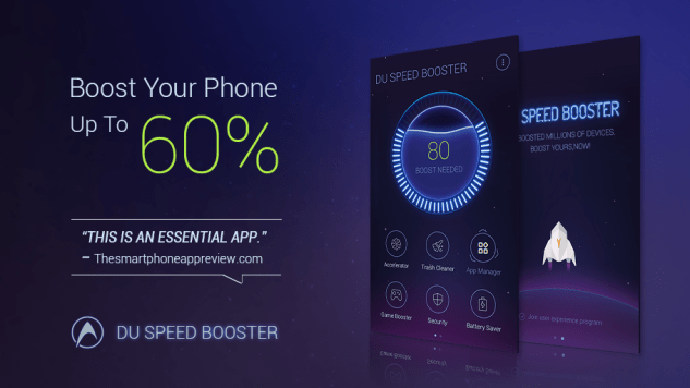 DU Speed Booster App Android Free Download