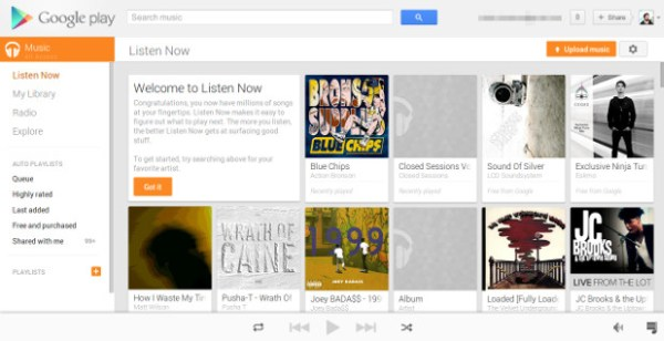 Google Play Music App Android Free Download