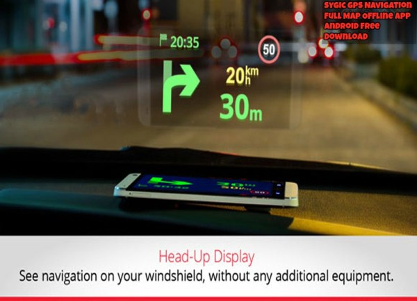 Sygic GPS Navigation Full Map Offline App Android Free Download