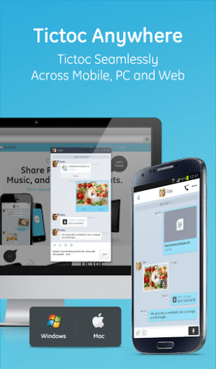 Tictoc Free SMS And Text App Android Free Download