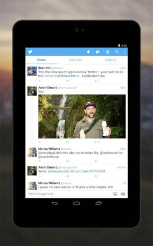Twitter App Android Free Download