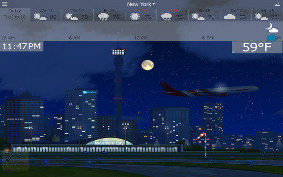 YoWindow Weather App Android Free Download