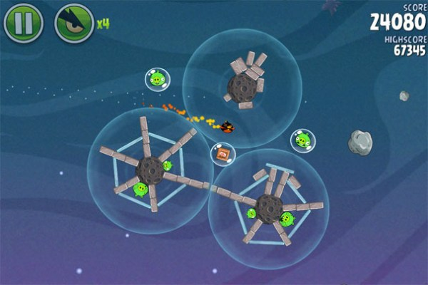 Angry Birds Space HD Game Ios Free Download