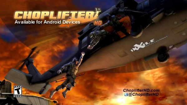 Choplifter HD Game Android Free Download