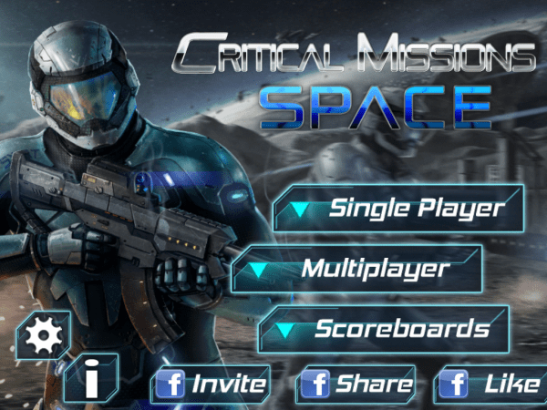 Critical Missions SPACE Game Android Free Download