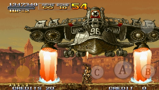 Metal Slug X Game Ios Free Download