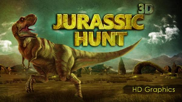 Jurassic Hunt 3D Game Android Free Download