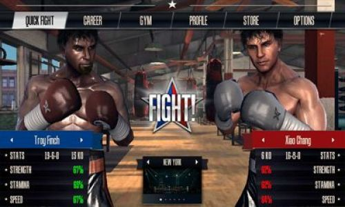 Real Boxing Game Android Free Download