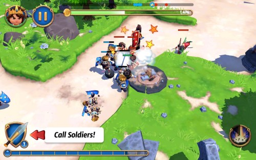 Royal Revolt Game Android Free Download