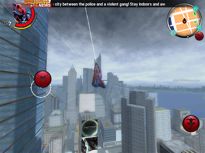 The Amazing Spider Man 2 android game Review