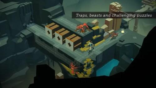 Lara Croft GO Game Ios Free Download