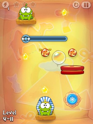 Cut The Rope Time Travel Game Android Free Download