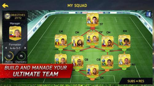 FIFA 15 Ultimate Team Game Android Free Download