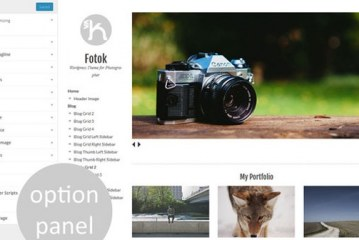 Fotok Creativemarket WordPress Photography Theme Free Download