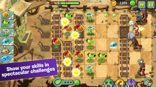 Plants vs zombies 2 Game Android Free Download