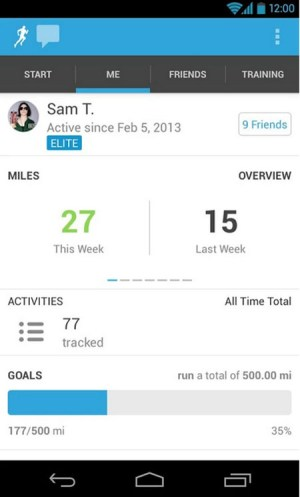 Runkeeper GPS Track Run Walk App Android Free Download