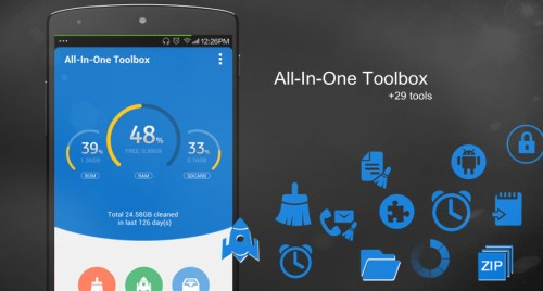 All In One Toolbox Cleaner App Android Free Download