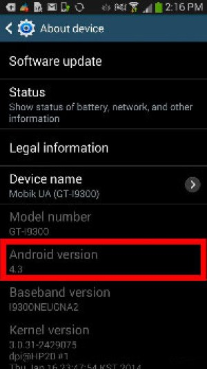 How to find out your Android version