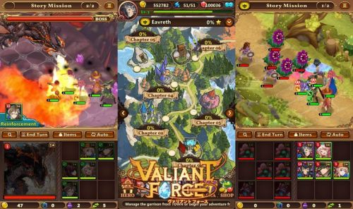 Valiant Force Game Android Free Download