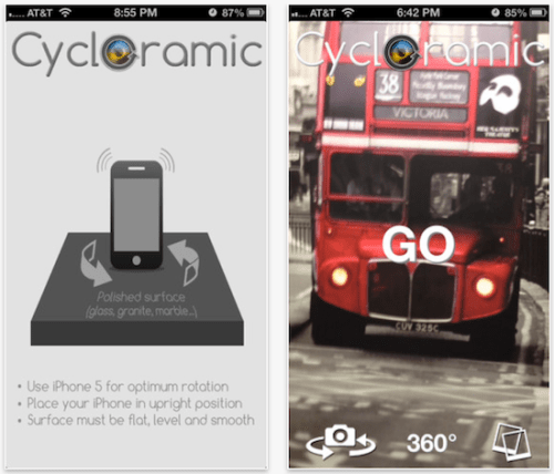 Cycloramic 360 App Ios Free Download