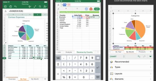 Microsoft Excel App Ios Free Download