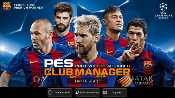 PES CLUB MANAGER Game Android Free Download