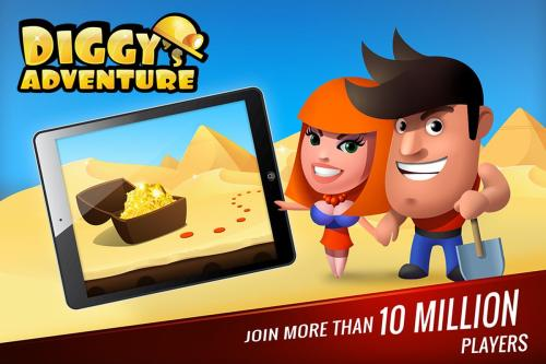 Diggy's Adventure Game Android Free Download