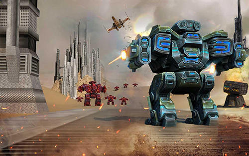 Futuristic War Robots Game Android Free Download