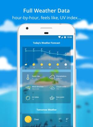 Weather Wiz Forecast Widget App Android Free Download