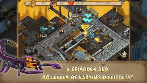 Iron heart Steam tower Game Ios Free Download