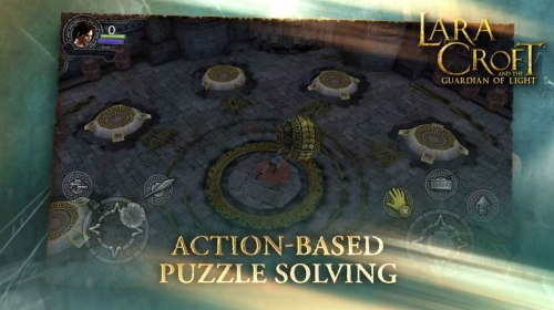 Lara Croft Guardian of Light Game Android Free Download